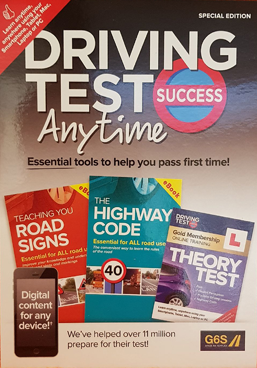 Driving Test Anytime book